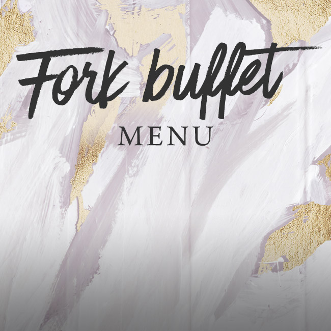 Fork buffet menu at The Victoria