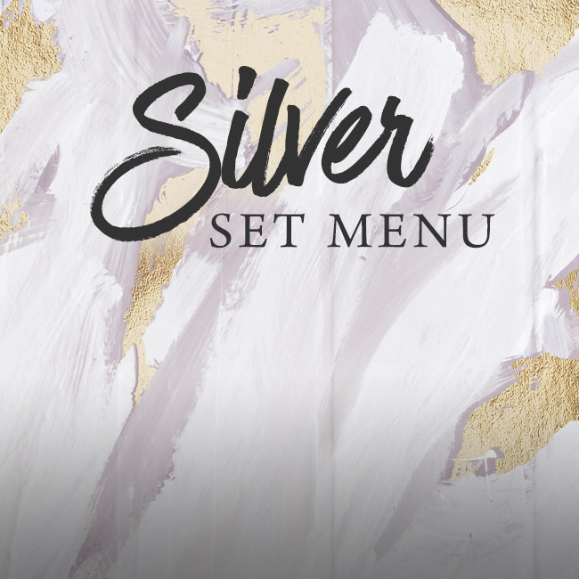 Silver set menu at The Victoria
