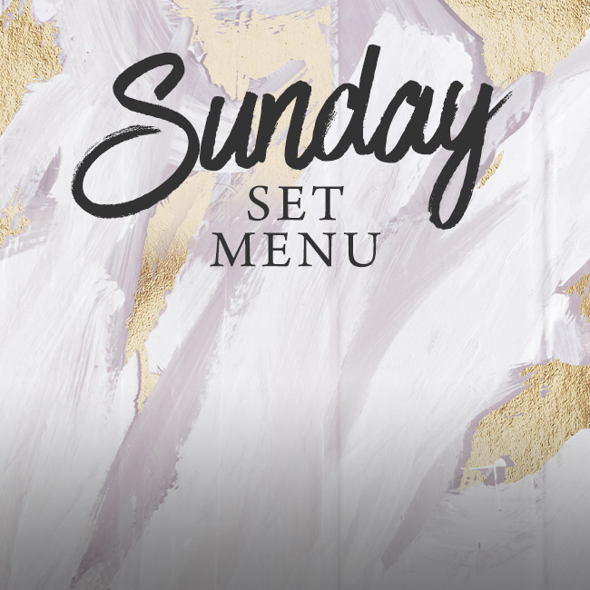 Sunday set menu at The Victoria